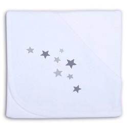 Capa de Baño Estrellas Gris